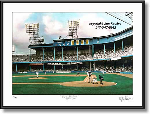 Click on this image to view Detroit Tiger Stadium Photo Print Photo Gallery.