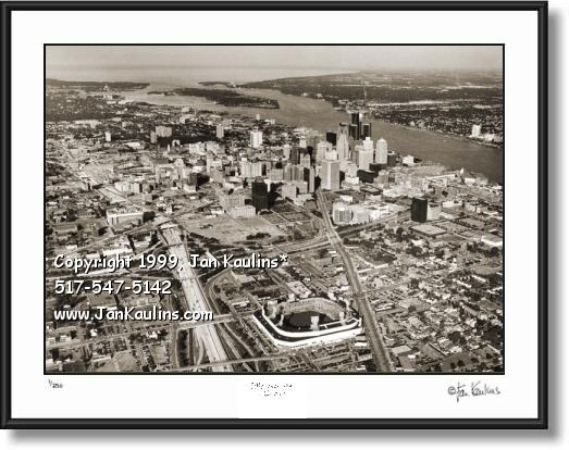 Click on this image to view DETROIT LANDMARKS Art Photo Art Gallery 'B'.