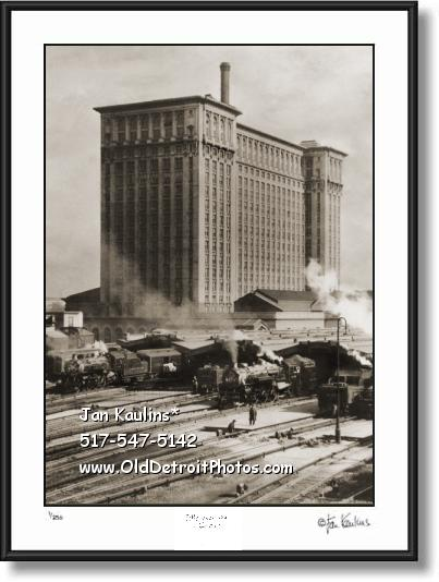 Click on this image to view Old Vintage Detroit Photo Print Photo Gallery #3.