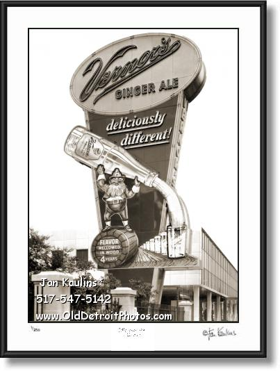 Click on this image to view Vintage Old Detroit Photograph Print Gallery #9.
