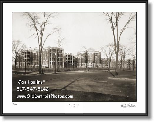Click on this image to see an enlarged view of HENRY FORD HOSPITAL 1927 photo picture print.