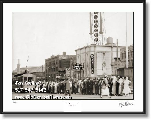 GAYETY BURLESQUE THEATER Detroit 1920s photo