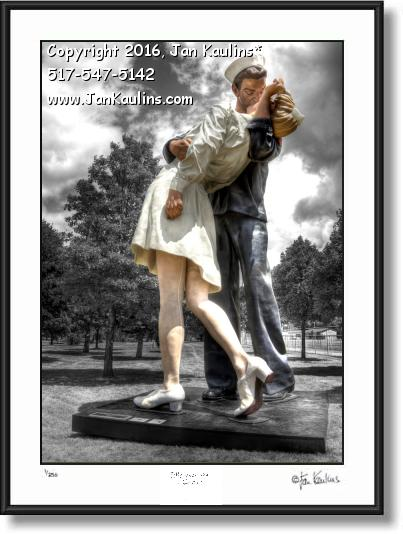 Click on this image to see an enlarged view of EMBRACING PEACE Royal Oak  photo print.