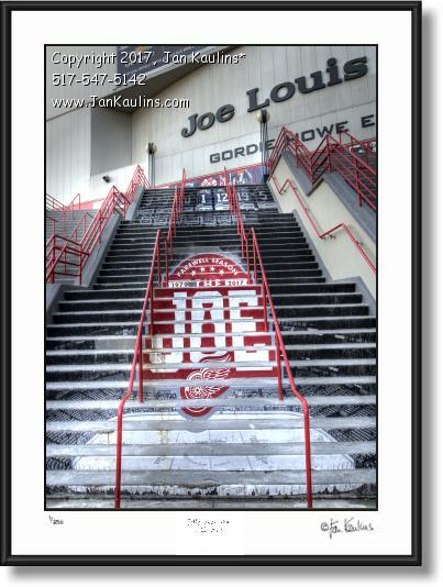 Click on this image to see an enlarged view of JOE LOUIS ARENA Farewell Season photo picture.