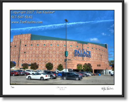 Click on this image to see an enlarged view of PALACE AT AUBURN HILLS photo picture print.