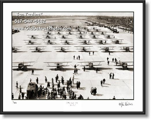 Click on this image to see an enlarged view of 1931 NATIONAL AIRCRAFT SHOW Detroit photo.