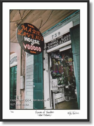 House of Voodoo New Orleans Art Photo Print