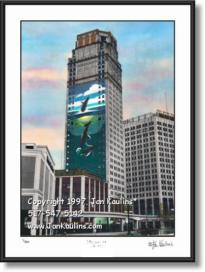 Broderick Tower photo Broderick Tower art print