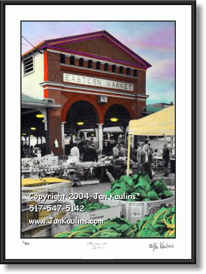 Click on this image to see an enlarged view of EASTERN MARKET photo Detroit Eastern Market.