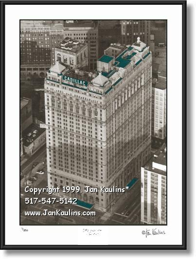 Click on this image to see an enlarged view of BOOK CADILLAC Hotel photo Book Cadillac Detroit.