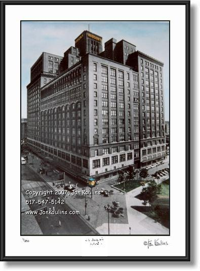 Click on this image to see an enlarged view of JL HUDSON'S Detroit JL Hudsons photo art print.