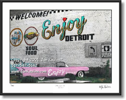 Enjoy detroit mural photo enjoy detroit photo jan for Enjoy detroit mural