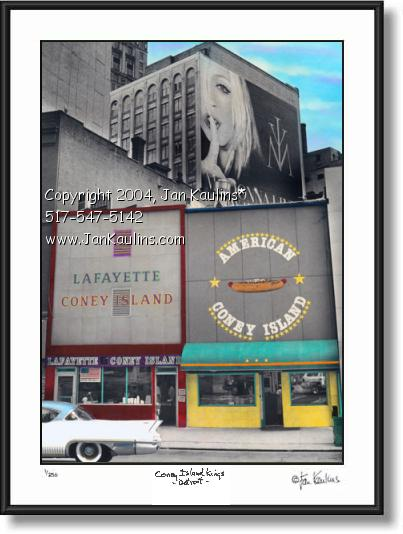 LAFAYETTE CONEY ISLAND photo picture art print
