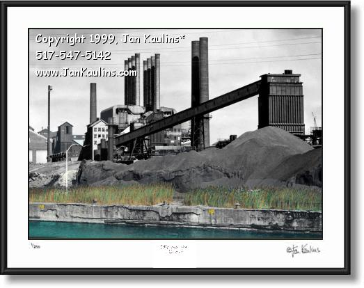 Click on this image to see an enlarged view of Ford Rouge Plant photo Ford Rouge Plant picture.
