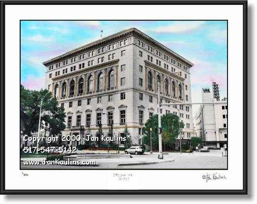 Click on this image to see an enlarged view of Detroit Athletic Club DAC picture photo art print.