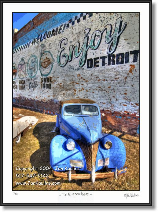 Enjoy detroit wall enjoy detroit mural photo jan kaulins for Enjoy detroit mural