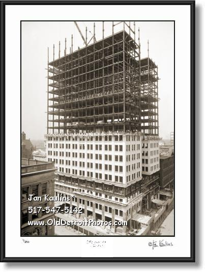 Click on this image to see an enlarged view of DIME BUILDING Detroit DIME BLDG  photo print.