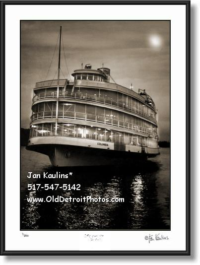 BOB-LO Boat Moonlight Cruise photo print picture
