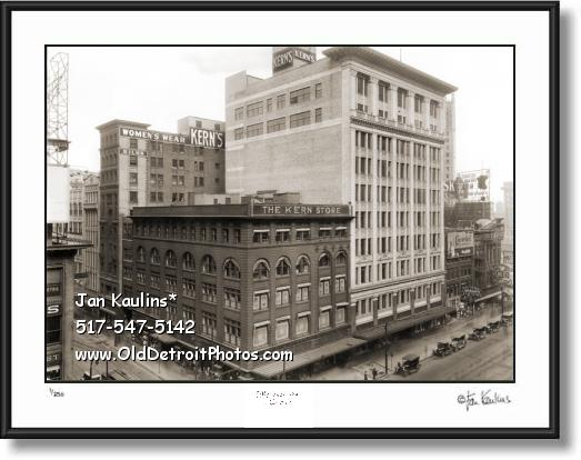 KERN'S DEPARTMENT STORE 1920 Detroit photo