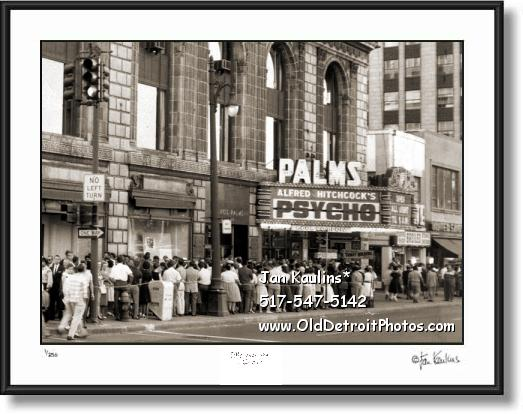 PALMS THEATER DETROIT photo picture print