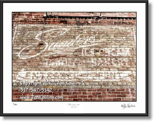 Click on this image to see an enlarged view of SANDERS ICE CREAM SANDERS Detroit photo print.