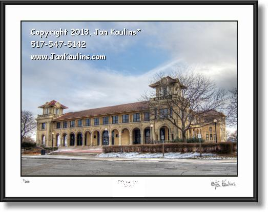 Click on this image to see an enlarged view of BELLE ISLE Detroit Casino photo print Belle Isle .