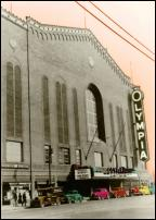 Click on this image to see an enlarged view of Olympia Detroit Red Wings Olympia Stadium art.