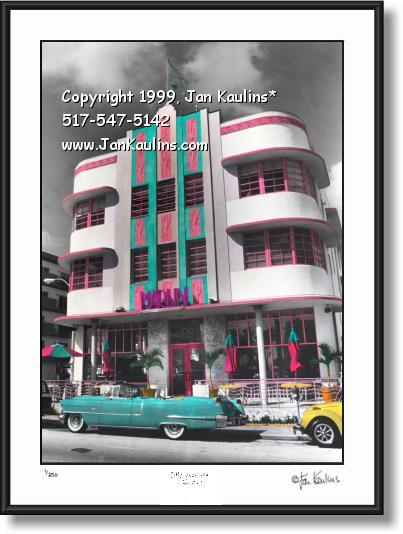 Marlin Hotel Miami South Beach Photo Print
