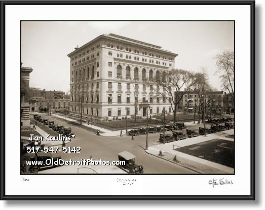DETROIT ATHLETIC CLUB Old Photo Print Picture Use 684 When Ordering